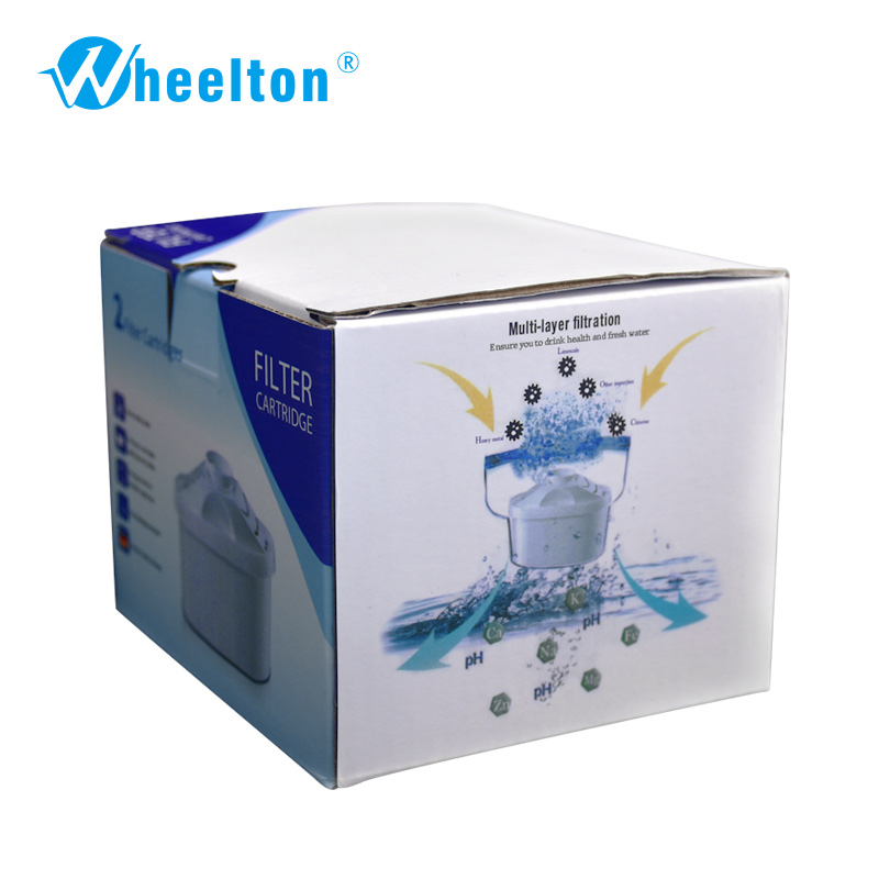 Water filter general use  Activate carbon Water Filters Cartridge Replacement for  Water Pitcher Filter  2/lot Free shipping