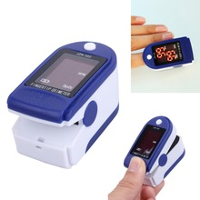Digital LED Light Fingertip Pulse Oximeter Blood Oxygen Saturation Tester SPO2 Heart Rate PR Monitor