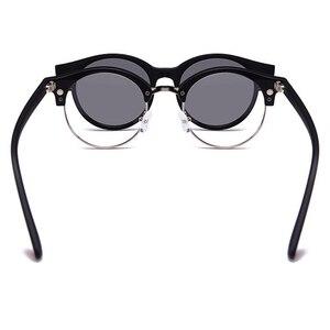 Image 4 - Polarize güneş gözlüğü seti 3 adet manyetik klipler TR çerçeve gözlük üzerinde mıknatıs rahat optik miyopi gözlük