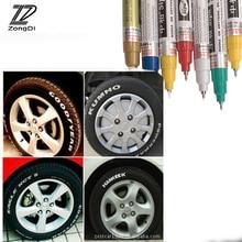 ZD автомобильных шин протектора металлический Перманентная краска маркеры изображены надпись для Skoda Octavia A5 A7 Fabia Yeti BMW E60 F30 X5 E53 Inifiniti