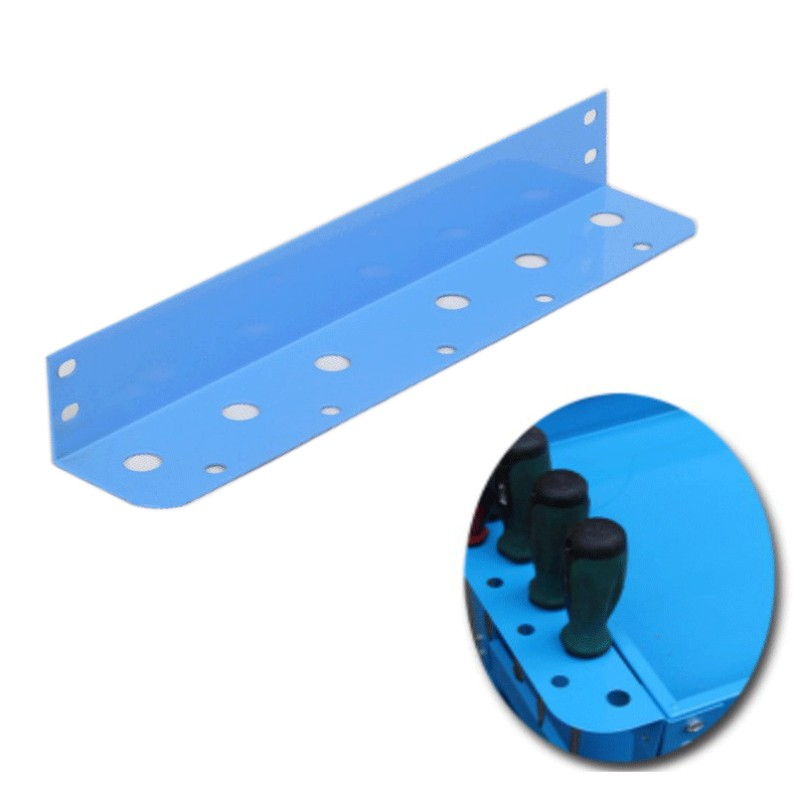 Metal Iron Three-layer Tool Car Cart Accessories Tool Cabinet Hardware Screwdriver Hanging Plate Red Blue