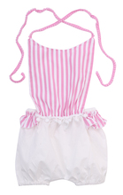 Hot Kids Baby Girl Summer Clothes Cute Stripe Backless Romper Jumpsuit Outfits Costume Sunsuit