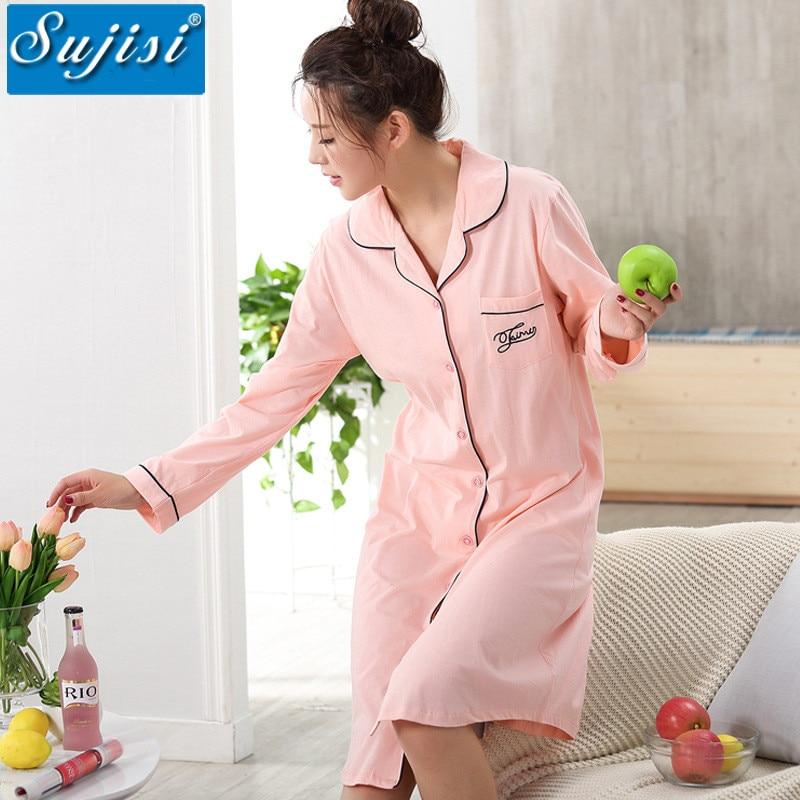 2016 New Winter maternity nightdress long nursing pajamas cotton Pyjamas Women Long Nightgown Fall Sleepwear maternity clothes