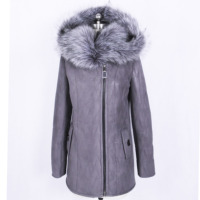 Direct Supply From Factory Women S Wear Thick Winter Faux Fur Coat Female Fox Collars Three