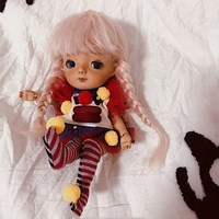 SuDoll 1/8 BJD Doll Big Head Free eyes Resin Dolls Tan Skin
