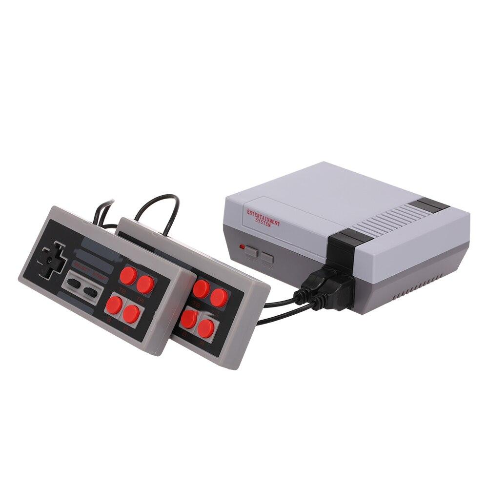 Docooler Mini TV Game Console 8 Bit Retro Video Game Consoles Built-In 620 Games Handheld Gaming Player AV Output Dual Joysticks