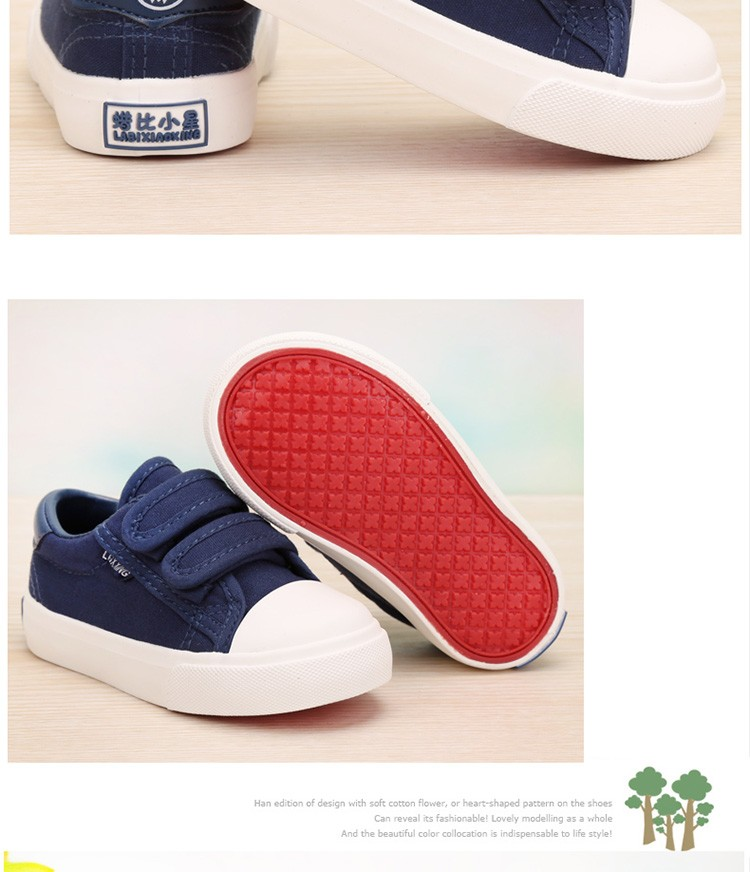 Beautiful Baby Girl and Boy White Canvas Shoes 6 Colors kids Casual Shoes Flat and Durable Toddler Little Girl Sneakers 9