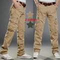 Cargo Pants Midweight Regular Direct Selling Hot Sale 2016 Mens Military Cotton Pantalones Hombre Casual Chinos For Men 021