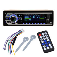 Bluetooth Car Stereo Audio In Dash One Din Built In FM Radio Receiver Aux Input Receiver