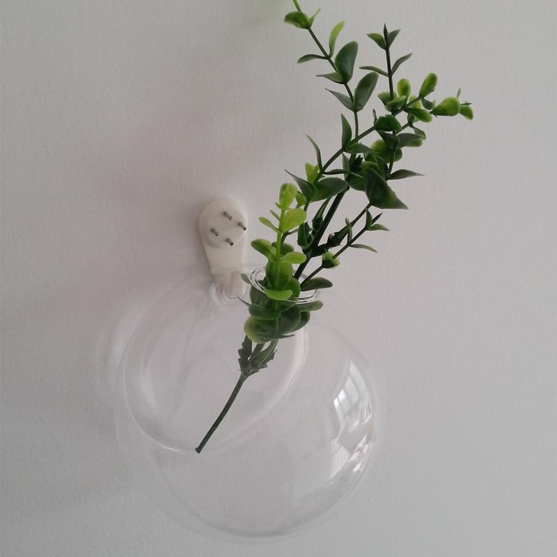 Betty Store Diameter = 8cm Creative Wall-mounted Glass Vase Glass Globe Terrarium Home Decoration Glassware China Supplier