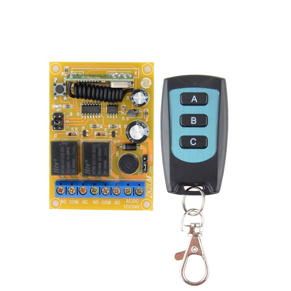 DC 12V 24V Remote control switch motor reversing controller switch output intelligent learning code jog inter lock tesys k reversing contactor 3p 3no dc lp2k1201kd lp2 k1201kd 12a 100vdc lp2k1201ld lp2 k1201ld 12a 200vdc coil