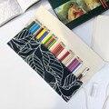 Рекламная большая емкость 36/48/72 отверстий  цветная сумка для карандашей  корзина для хранения карандашей  холщовая оберточная сумка для кар...