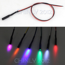 цена на 6pcs car use  car light side glow fiber optic light illuminator