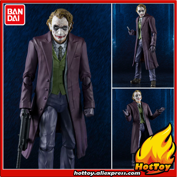 100% Original BANDAI Tamashii Nations S.H.Figuarts (SHF) Action Figure - Joker (The Dark Knight) from