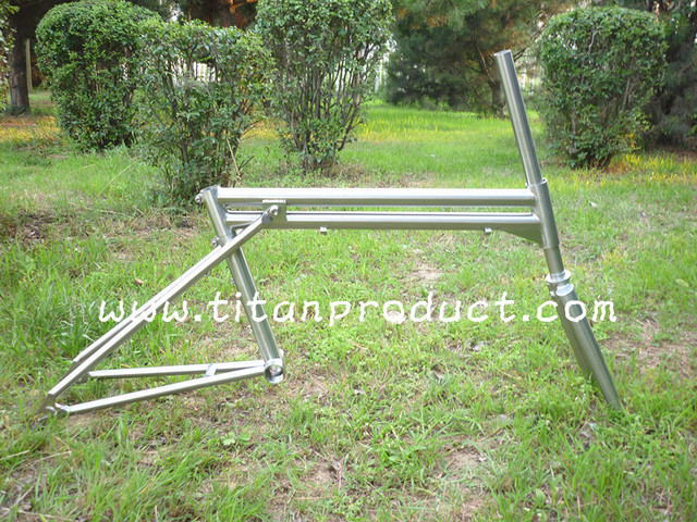 Titanium Folding Bike Frameset