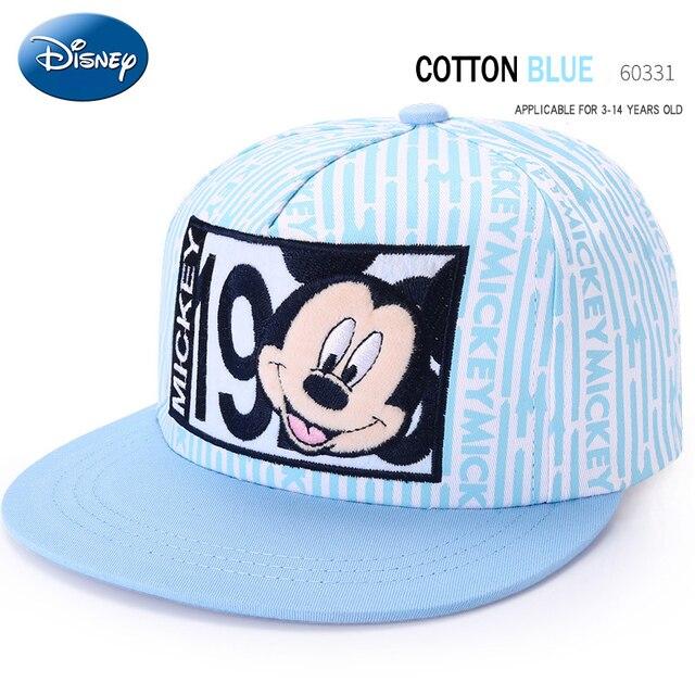 Los niños Disney mickey mouse cap niños de dibujos animados de moda del  sombrero al aire 8ce0a1de40f