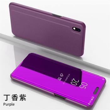 For Huawei Honor 8S Case Luxury Smart Mirror Flip Clear View Cover On Honor8S KSE-LX9 Accessory For Honor 8S Fundas Coque 1