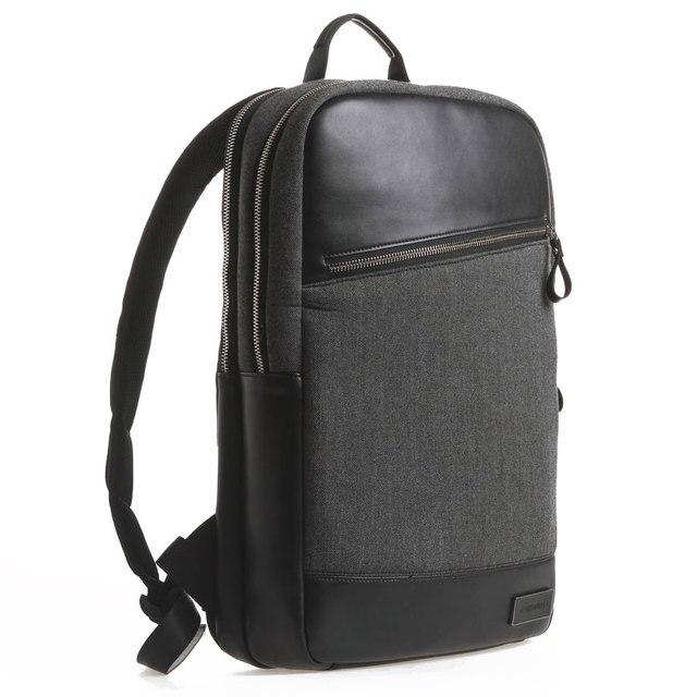2017 Новый Рюкзак Для Ноутбука 13 14 15 Дюймов + Free Keyboard Cover для MacBook 13 15 Дюймов Натуральная Кожа Рюкзаки, Школьные Сумки 15.6