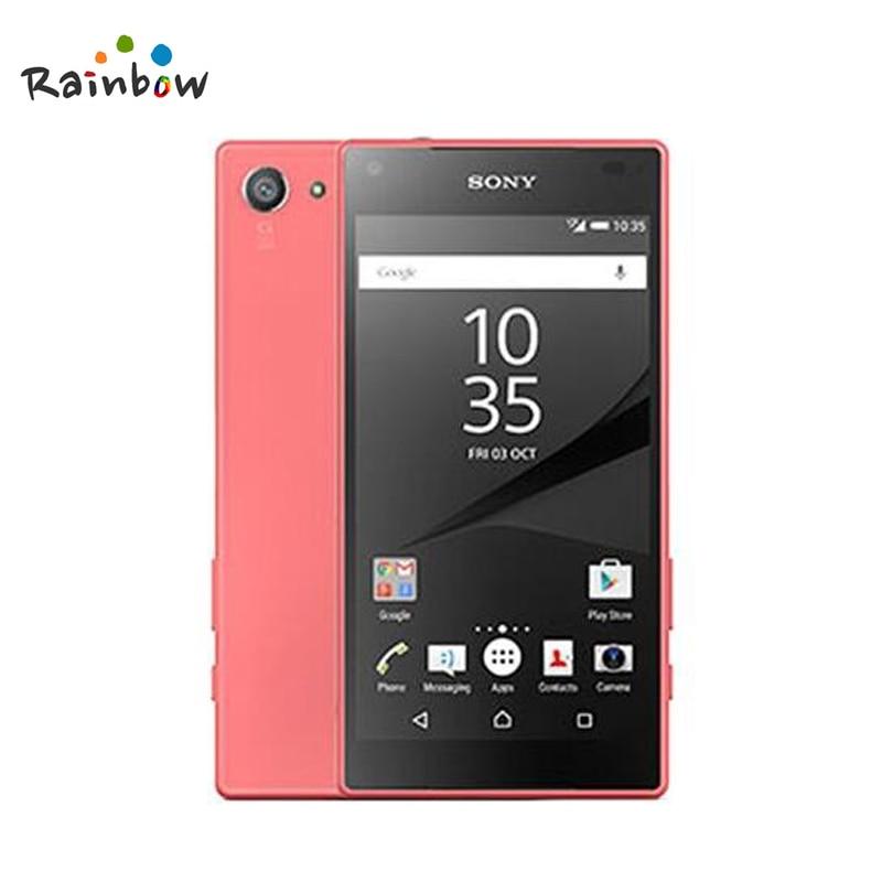 "Refurbished Sony Xperia Z5 E5823 Unlocked z5 mini GSM 4G Android Octa-Core 4.6"" 23MP WIFI GPS 32GB E5823 yellow 20"