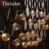 Thrisdar 2 5M Outdoor Solar Fairy String Light Garland 10pcs 5CM Big Size Ball Fairy Solar