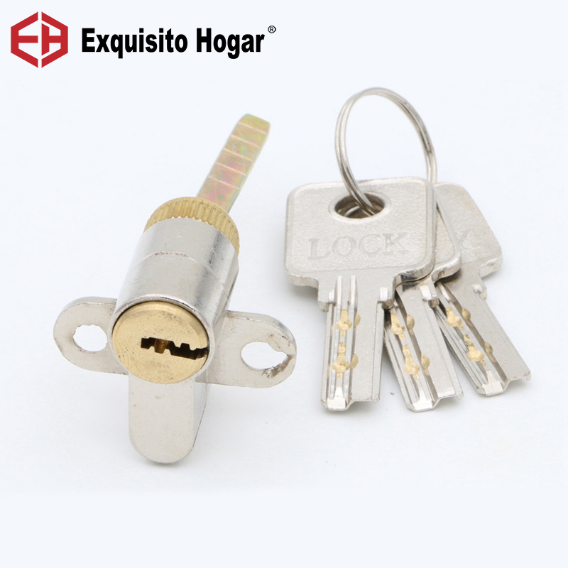 Locking Lock Door Cylinder Handle Pressure Lock Key Brass Interior Door 13# Single Hardware Core Rod door hardware security 70 75mm cylinder interior room door lock tongue pressure lock handle lock key brass copper lock