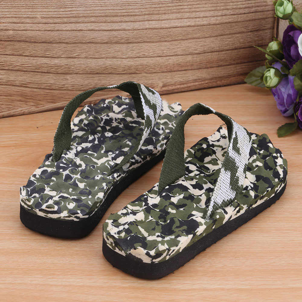 Мужские летние камуфляжные Вьетнамки; сандалии; тапочки; домашняя и обувь для пляжного отдыха; прогулочные сандалии-гладиаторы; пляжная обувь