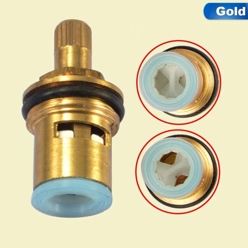 High Standard Ceramic Disc Faucet Cartridge Spout Brass Replacement Water Mixer Tap Inner Valve Core Quarter Turn Best Price