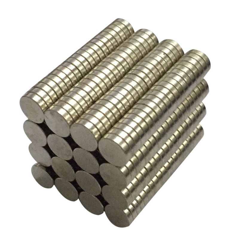 50 Pieces High Strength 8mm x 2mm Rare Earth NdFeB Magnet Neodymium N50 Disc Round Cylinder Fridge Magnets Newest earth 2 society vol 4 life after death
