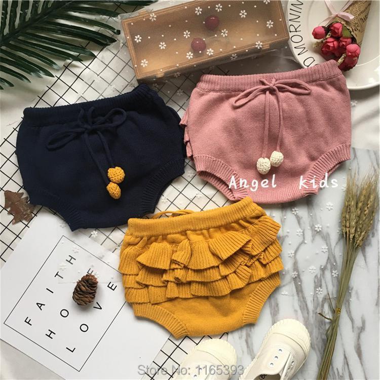 2017 SPRING SUMMR BOBO CHOSES shorts baby girl clothes knitted COTTON  shorts KIKIKIDS girls clothing vetement enfant fille vest