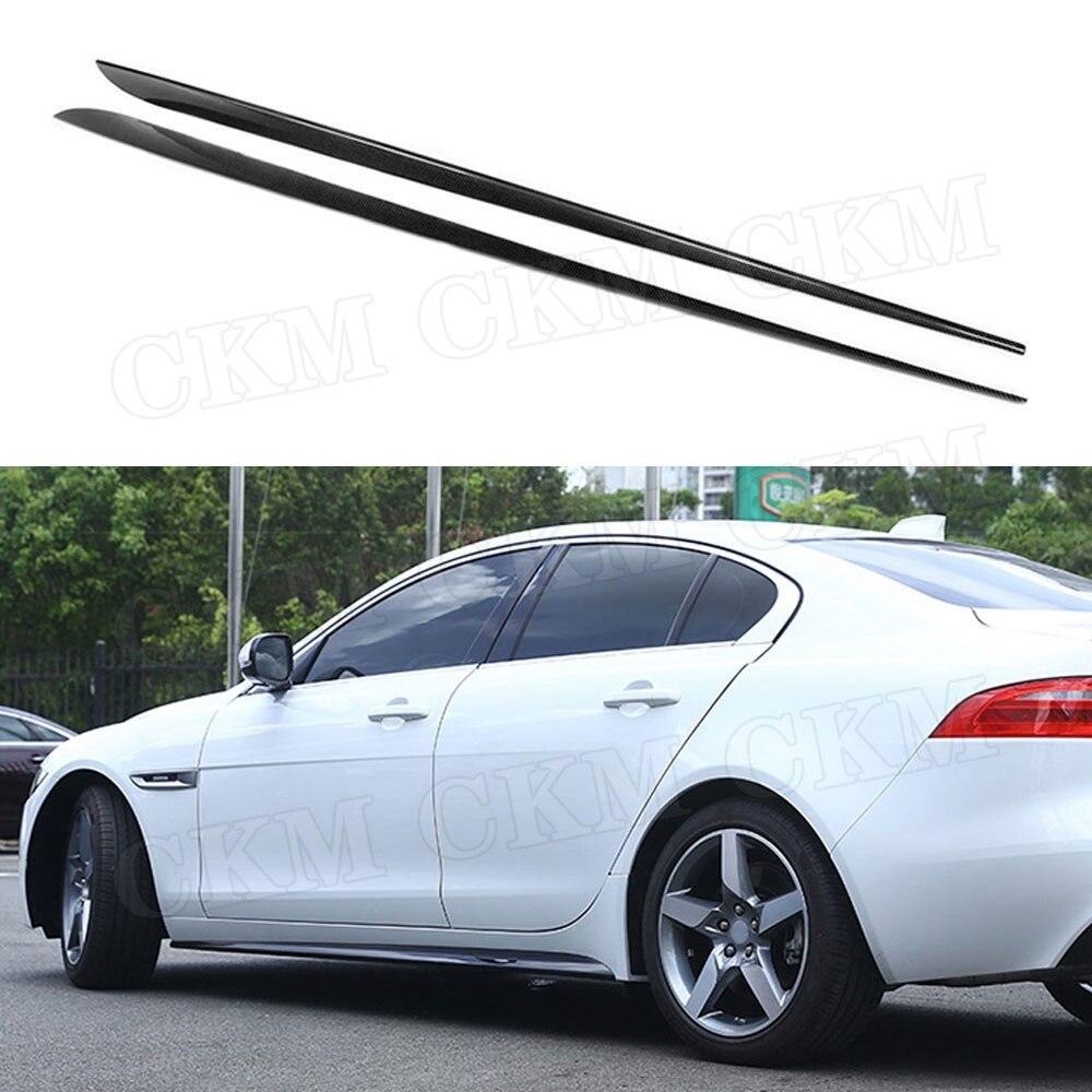 Carbon Fiber Rear Bumper Diffuser Lip Bodykit Factory For Jaguar XE 2015-2017