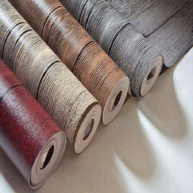 10 M Bois Effet Papier Peint A Rayures Optique Lambris Bois Planche
