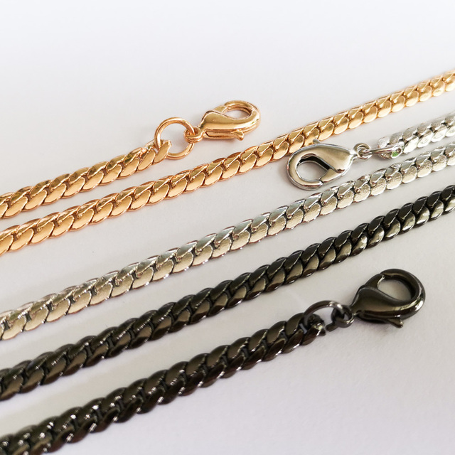 Boutique De FGG Copper Long\Short Snake Chains For Clutch Bags Shipped with Registered Post Service