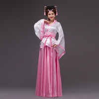 2017new Chinese Ancient Costume Dress Cosplay Costume Chinese Traditional Costume Ancient Tang Dynasty Hanfu Women's Hanfu Dress
