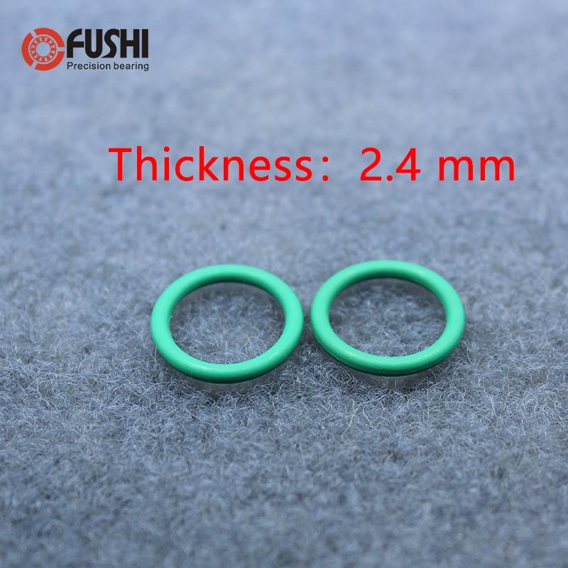 10*Oil Resistant FKM Viton Seal Fluorine Rubber 1.5mm O-Ring Sealing Ring 4-24mm