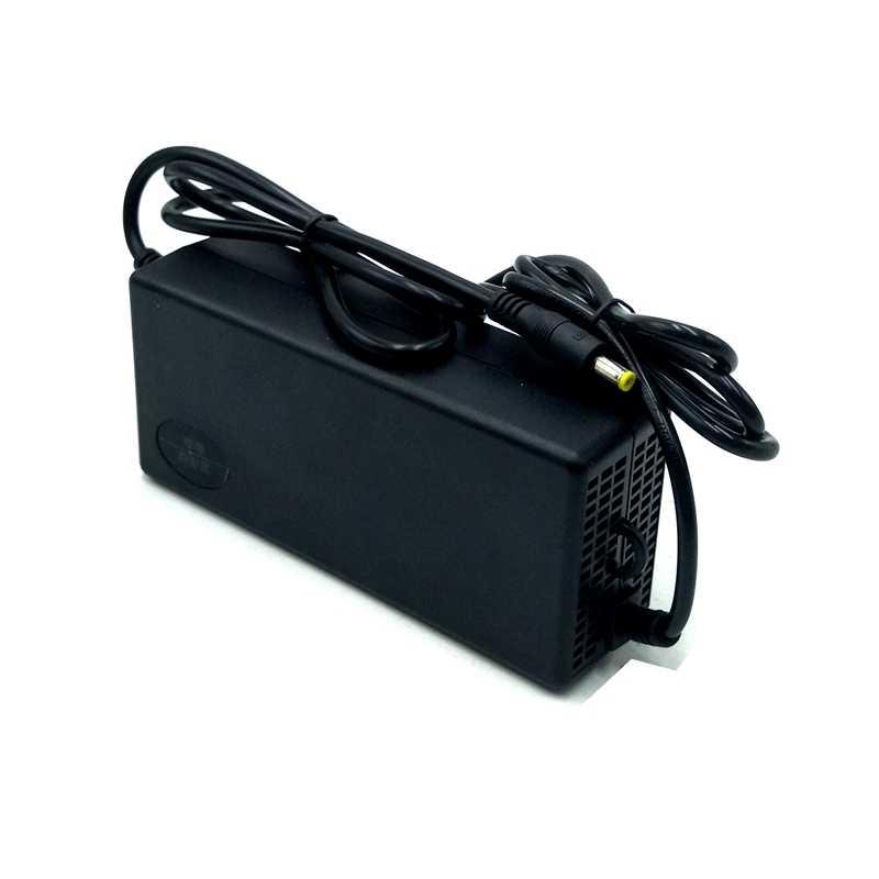 42 в 2A литий-ионная литиевая батарея зарядное устройство DC головка для 36 В литий-ионный e велосипед e Электрический аккумулятор с вентилятором
