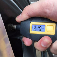 LED Backlight Wheel Tire Tyre Air Pressure Gauge Tester Digital Auto Meter