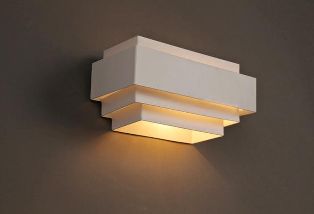 Modern Square LED Wall Light Luminaire Wall Lamp 110V 220V Led Stair Light  Bedroom / Bathroom