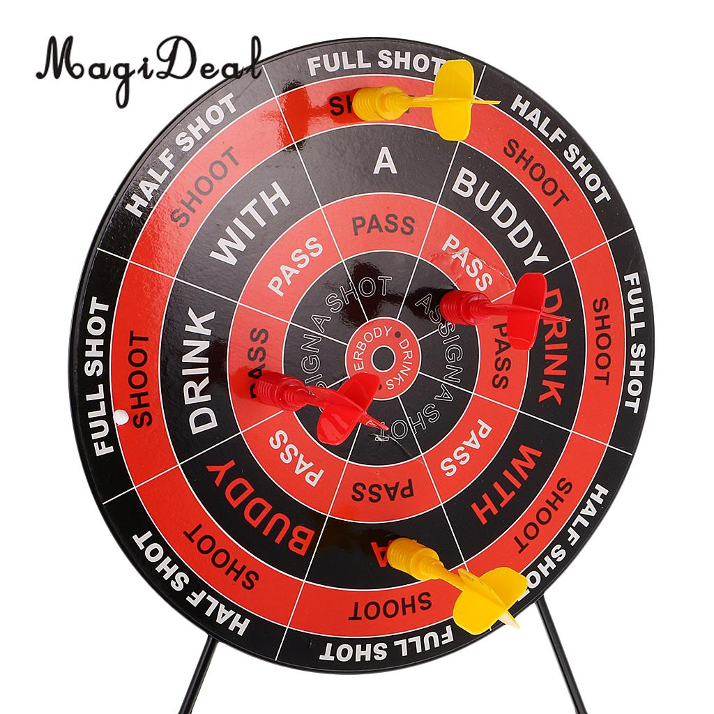 Magideal High Quality Mini Set Of Dart Shots Novelty Drinking Game