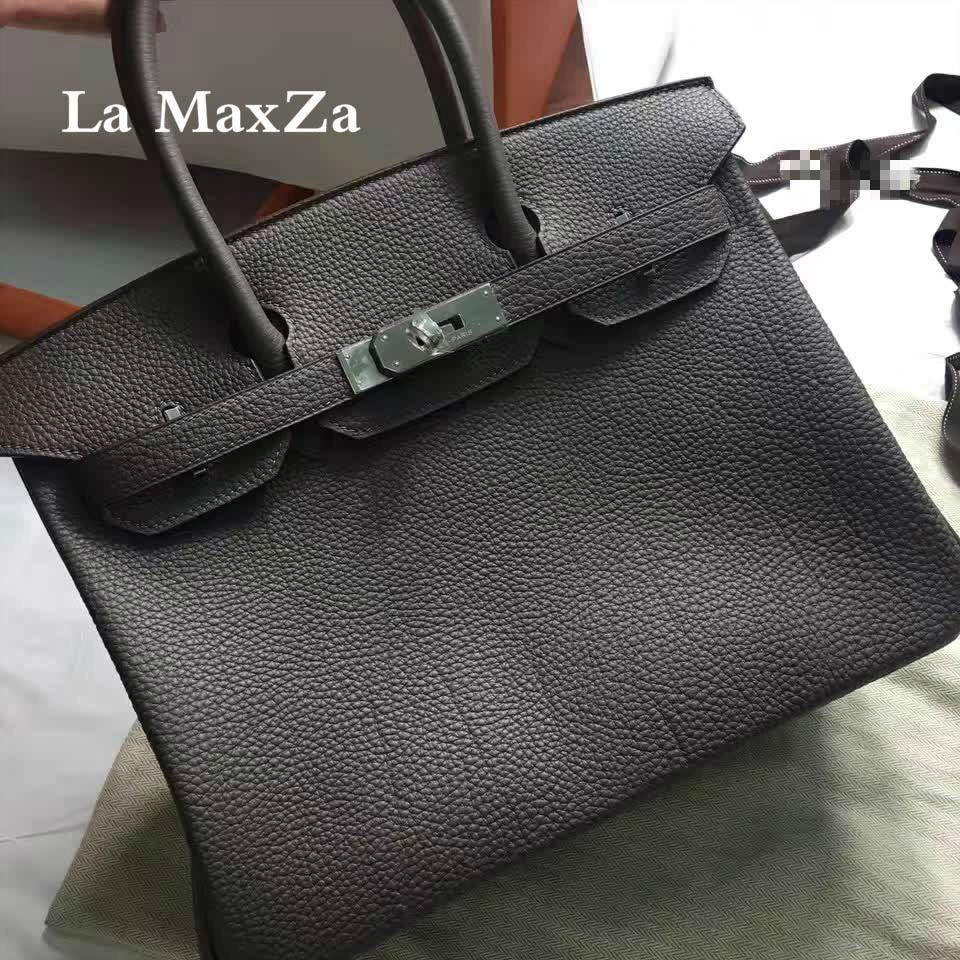 2017 fashion dark blue head layer leather bag jacket high-end ladies handbag CL70238 napapijri guji check dark blue