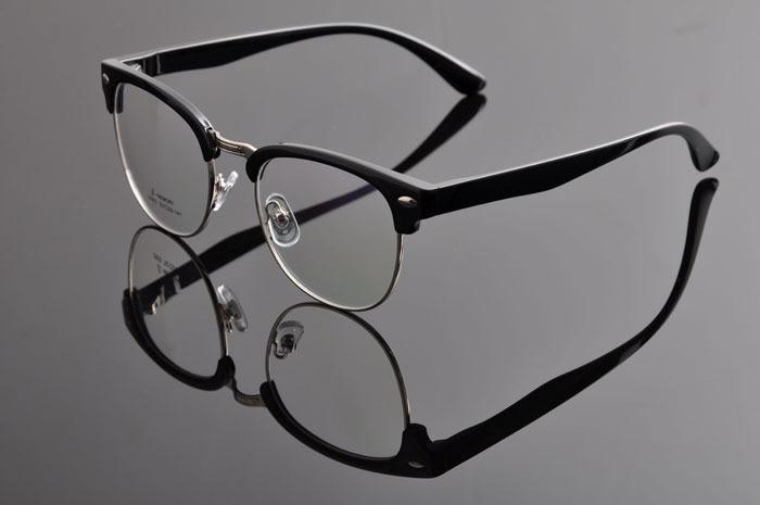 DEDING Винтаж очки с круглыми линзами в стиле унисекс очки ботаника очки в оправе вогнуто-Выпуклое стекло, de vue oculos de grau с чехлом ткань DD0883