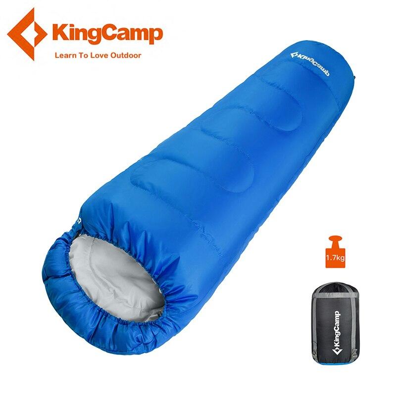 KingCamp Sac de Couchage Momie Étanche Ultra-Léger En Plein Air Paresseux Sac Camping Voyage Randonnée Adulte Sacs de Couchage 3 Saison