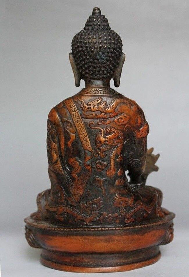 티베트 황동 불교 보살 sakyamuni 불상-에서동상 & 조각품부터 홈 & 가든 의  그룹 3