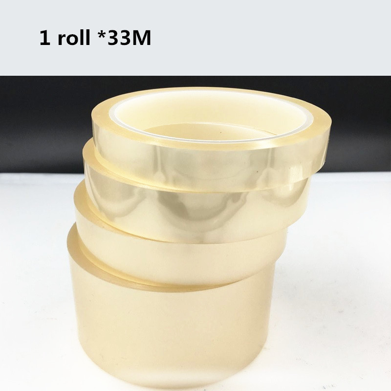 US $2 96 26% OFF|33M * 1 roll PET transparent tape electroplating circuit  board automotive paint high temperature insulated transparent tape-in Tape