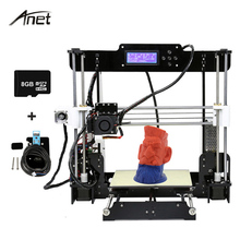 Anet A8 Optional Auto Lever 3d Drucker Upgraded Prusa i3 3d Printer with Plus Size Build Volume Support 1.75mm PLA ABS Printing
