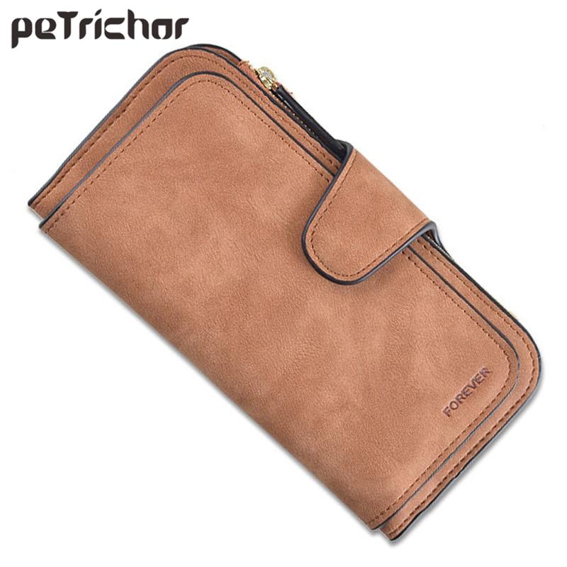 Brand Design 4 Layer 16 Slots Card Holder Wallet Women Matte Leather Clutch Wallets Female Long Ladies Purse Zipper Coin Bag HOT