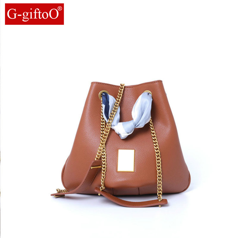2019 Handmade Scarf Bucket Bags Mini Shoulder Bags With Chain Drawstring Small Cross Body Bags 2019 Handmade Scarf Bucket Bags Mini Shoulder Bags With Chain Drawstring Small Cross Body Bags