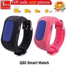 Лучшие Q50 OLED Экран gps умный ребенок часы SOS вызова Расположение Finder Locator Tracker для Childreb анти потерянный монитор детские наручные часы
