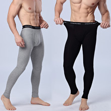 chenke365 New 2017 fashion male slim Fit cloth with soft nap Thermal underwear/Men's autumn tight keep warm pants M-XXL