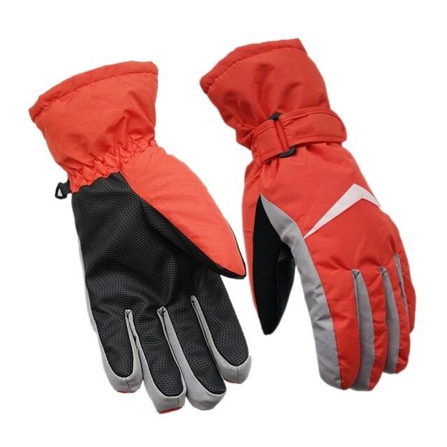 eae9b3ddc93 Esquí guantes dedo completo mujeres antideslizante resistente al agua a  prueba de viento y transpirable cálido