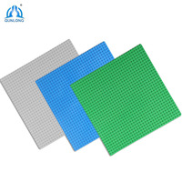 Minecrafted Three Classic Base Plates 32 32 Dots Baseplate Figure Building Block Compatible Legoe Friends City